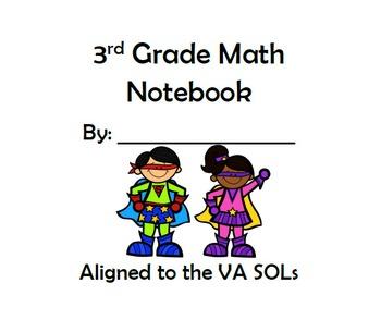 3rd Grade Math SOL Bundle