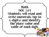 3rd Grade Math SOL Objectives