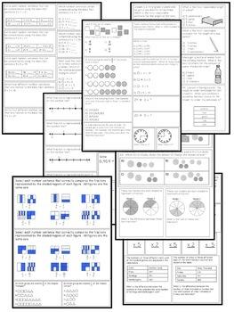 3rd Grade Math SOL Review Bundle