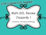 3rd Grade Math SOL Review Jeopardy 1