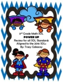 3rd Grade Math SOL Review Organized by Standard