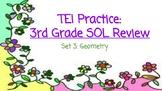 3rd Grade Math SOL TEI Task Cards: Geometry