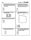 3rd Grade Math Mini Benchmark STAAR 10 Day Countdown- 100 problems/10 per day