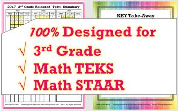 3rd Grade Math STAAR Bundle