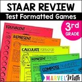 3rd Grade Math Review: 14 No Prep Games by Marvel Math