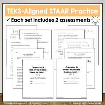 3rd Grade Math {Multiplication and Division} STAAR Prep  - 100% TEKS Aligned