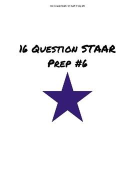 3rd Grade Math STAAR Review #6