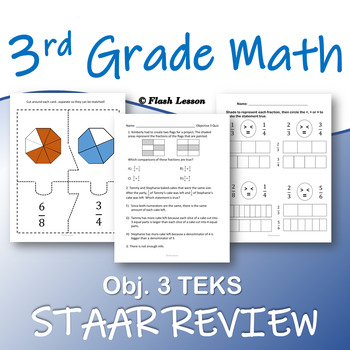 3rd Grade Math STAAR Review - Objective 3