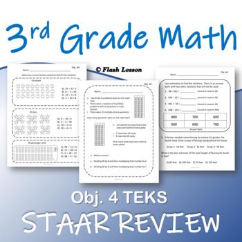 3rd Grade Math STAAR Review - Objective 4