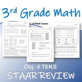3rd Grade Math STAAR Review - Objective 4