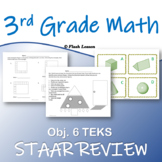 3rd Grade Math STAAR Review - Objective 6
