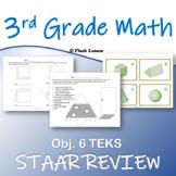 3rd Grade Math STAAR Review - Objective 6