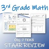 3rd Grade Math STAAR Review - Objective 7