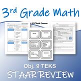 3rd Grade Math STAAR Review - Objective 9