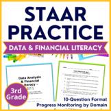 3rd Grade Math STAAR PREP {Data Analysis + Financial Literacy} TEKS 3.8A & 3.8B