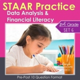 3rd Grade Math STAAR Practice Set 6: Data Analysis & Financial Literacy