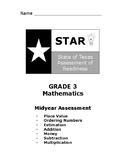 Grade 3 Math STAAR Practice Test Midyear Assessment