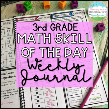 3rd Grade Math Skill of the Day | Distance Learning