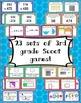3rd Grade Math Skills Scoot Mega Bundle