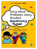 Solve Word Problems Using Questioning
