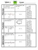 3rd Grade Math Spiral Review (TEKS aligned) Weeks 1-4 - Mo