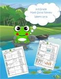 3rd Grade Math Spiral Review (TEKS aligned) Weeks 29-32