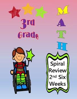 3rd Grade Math Spiral Review Weeks 6-12