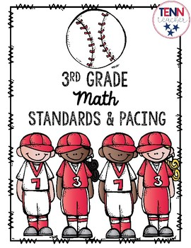 3rd Grade Math Standards and Pacing