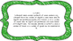 3rd Grade Math Standards on Green Colored Frame