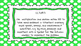 3rd Grade Math Standards on Green Polka Dotted Frame