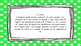 3rd Grade Math Standards on Green Star Frame