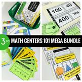 3rd Grade Math Centers 101 MEGA BUNDLE