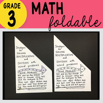 Doodle Notes - 3rd Grade Math Strategies for Solving Multiplication & Division