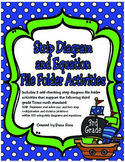 3rd Grade Math: Strip Diagram and Equation File Folder Activities (TEKS 3.5B)
