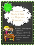3rd Grade Math - Student Data and Objective Notebook