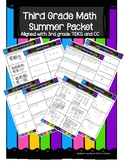 3rd Grade Math Summer Packet