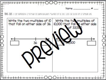 3rd Grade Math TEKS-Based Exit Tickets