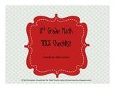 3rd Grade Math TEKS Checklist