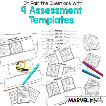 3rd Grade Math TEKS Site License: Games, Exit Slips, STAAR Review, Assessments