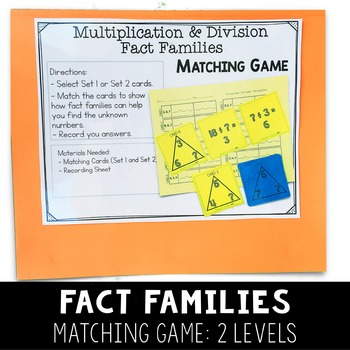 Third Grade Math Centers - Multiplication and Division - Set 2 - 3.OA