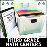 3rd Grade Task Cards & Games - BUNDLE Sets 1-5