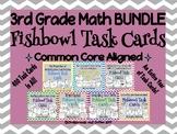 3rd Grade Math Task Card BUNDLE