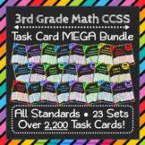 ⭐The ULTIMATE 3rd Grade Math Task Cards Bundle⭐