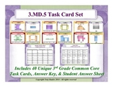 3rd Grade Math Task Cards 3 MD.5 Geometric Measurement 3.MD.5