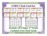 3rd Grade Math Task Cards 3 NBT.3 Multiply By Multiples Of 10 3.NBT.3