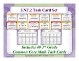 3rd Grade Math Task Cards 3 NF.2 Understand a Fraction as a Number Practice