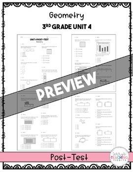 3rd Grade Math Test Bundle  {Paper and Pencil}