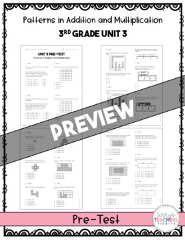 3rd Grade Math Test Bundle {Paper and Pencil AND Paperless}