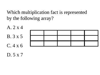 3rd Grade Math Test Prep