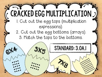 3rd Grade Math Centers {CCSS Operations and Algebraic Thinking}